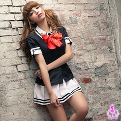 Ayoka - School Uniform Party Costume Set