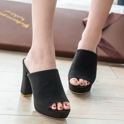 Zandy Shoes - Mule Sandals