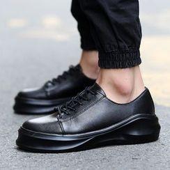 Chariot - 繫帶厚底休閑鞋