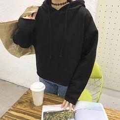 EKOOL - Drawstring Hooded Pullover