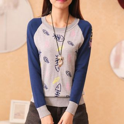 Autunno - Printed Sweater