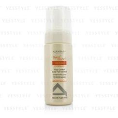 AlfaParf - Semi Di Lino Discipline Frizz Control Curly Hair Mousse (For Rebel Hair)