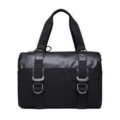 BagBuzz - 純色帆布手提包