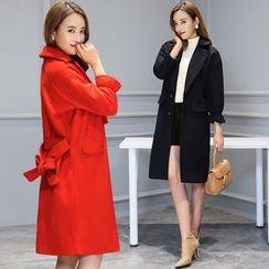 AiSun - Plain Knit Coat