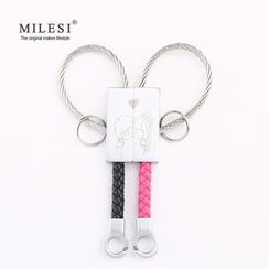 MILESI - 情侶裝鑰匙扣