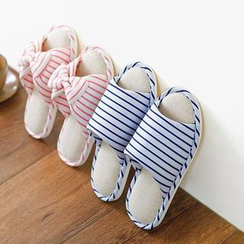 LOML - Striped Slippers