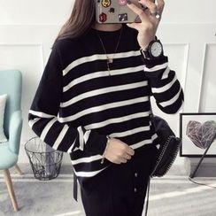 Qimi - Striped Sweater