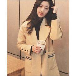 Oaksa - Woolen Long Coat