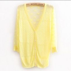 Coralie - Cable Knit Cardigan