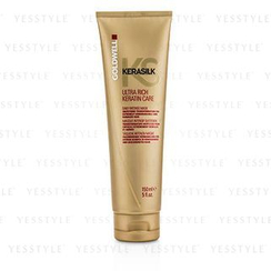 Goldwell - Kerasilk Ultra Rich Keratin Care Daily Intense Mask - Smoothing Transformation (For Extremely Unmanageable and Damaged Hair)