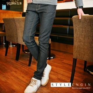 A guy in skinny jeans