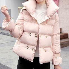 Marlene - Double-Breasted Padded Jacket