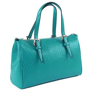 O.SA - Faux-Leather Quilted Tote