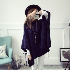 Qimi - Ribbed Knit Tunic