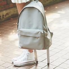 chuu - Zipped Canvas Backpack