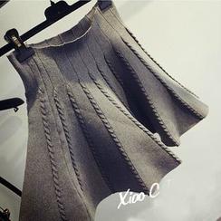 Hibisco - 荷叶A字短裙