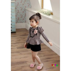 Cuckoo - Kids Houndstooth Dress