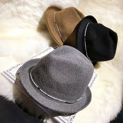 FROME - Straw Fedora Hat