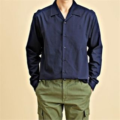 THE COVER - Long-Sleeve Cotton Shirt