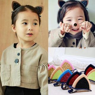 Peneme - Kids Glitter Cat Ear Hair Clip