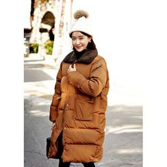 ssongbyssong - Faux-Fur Padded Coat