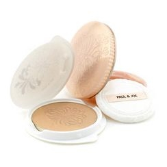 Paul & Joe - Pressed Powder Duo Compact (Case + Refill) - # 04 Warm