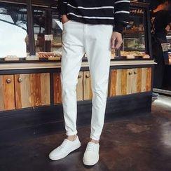 DUKESEDAN - Plain Straight Pants