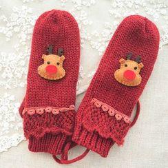 LUSCI - Deer Knit Gloves