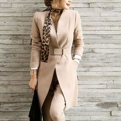 Aurora - Set: Belted Trench Coat + Pants