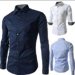 Hansel - Check Long-Sleeve Shirt