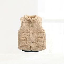 ciciibear - Kids Coral Fleece Vest