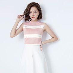 Tokyo Fashion - Sleeveless Knit Top