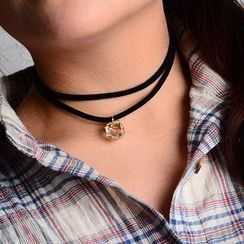 Seirios - Double-Strand Jeweled Choker