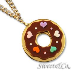 Sweet & Co. - Kandy X Sweet&Co. Minit Swarovski Donut Necklace