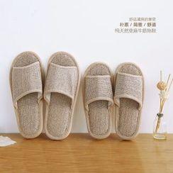 Cutie Bazaar - Linen Slippers