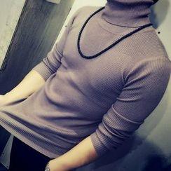 Breeson - 樽領毛衣