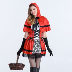 Cosgirl - Little Red Riding Hood Cosplay Costume