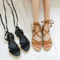 QQ Trend - Lace-Up Sandals