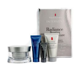 Elizabeth Arden - Intervene Radiance Boosting Collection: Moisture Cream 50ml + Cleanser 30ml + Night Cream 15ml + Eye Cream 5ml