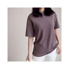 MASoeur - Short Sleeve Brushed Fleece T-Shirt