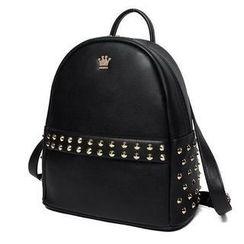 Princess Carousel - Studded Backpack