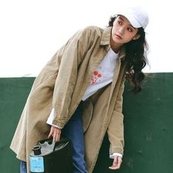 MOJIN - Corduroy Long Shirt