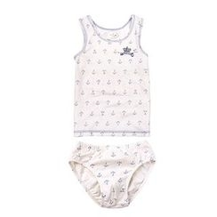 Aquafaba - Kids Set: Printed Tank Top + Panties