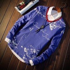 Masowild - Long-Sleeve Printed T-Shirt