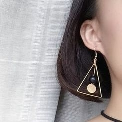 Calypso - Triangle Drop Earrings / Clip-On Earrings