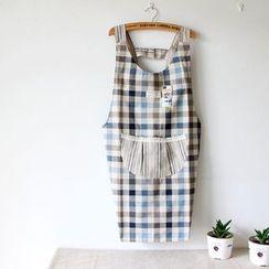 三木青禾 - 格子围裙