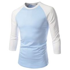 TheLees - Raglan-Sleeve Color-Block T-Shirt