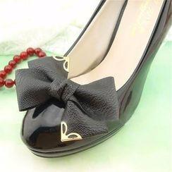Blue Fairy - Bow-Accent Shoe Decoration