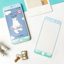 Aether - iPhone 6 / 6 Plus / 6S / 6S Plus / 7 / 7 Plus - Cartoon Tempered Glass Screen Protector Film - iPhone 6 / 6 Plus / 6S / 6S Plus / 7 / 7 Plus