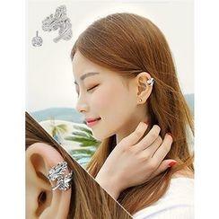 soo n soo - Set: Earring + Earcuff
